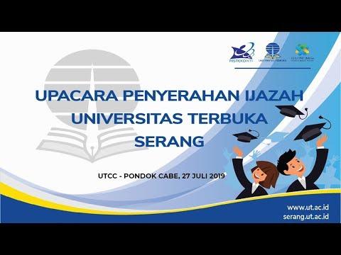 Upacara Penyerahan Ijazah (UPI) Universitas Terbuka Serang