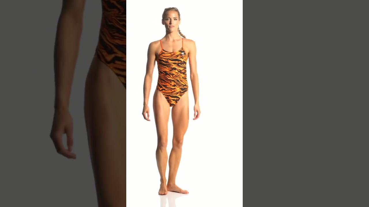 53b5ca3c87 TYR Women's Miramar Cutoutfit One Piece Swimsuit | SwimOutlet.com ...