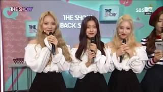 [170926] LOOΠΔ ODD EYE CIRCLE Interview at SBS MTV The Show (ENG)