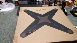 Xiro Xplorer V Unboxing(What a great quadcopter. I'm a newbie with drones so I'll sound like one in this vid. I got it from Tower Hobbies., 2016-03-25T00:04:13.000Z)