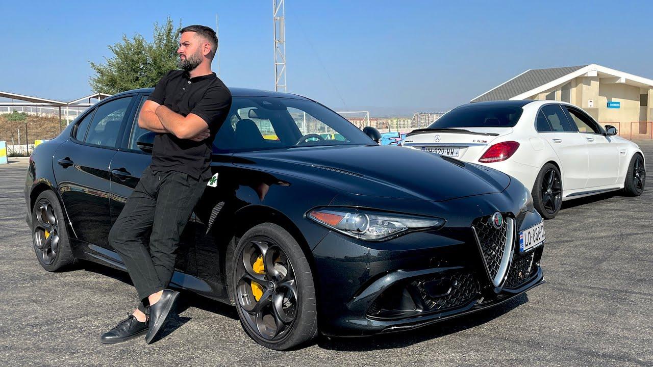 უტდ – Alfa Romeo Giulia Quadrifoglio – ღირსეული პასუხი კონკურენტებს!