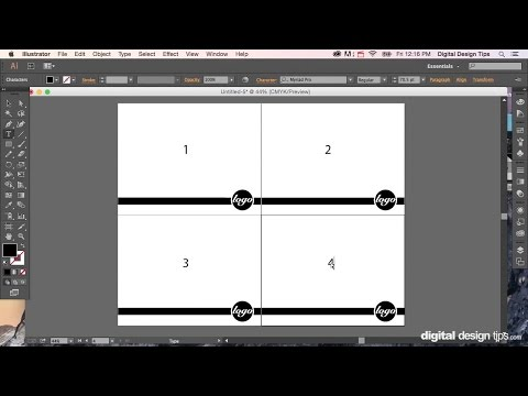 How to create a book in adobe illustrator