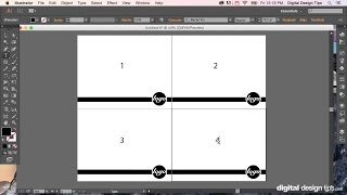 How to make a multiple page layout in Adobe Illustrator and save as PDF