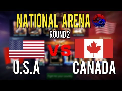 North America Nationa Arena : USA VS CANADA General picked Lesley
