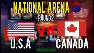 North America Nationa Arena : USA VS CANADA General picked Les…