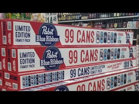 Kristina Kage - Pabst Blue Ribbon Is Selling a 99-Pack of PBR Beer