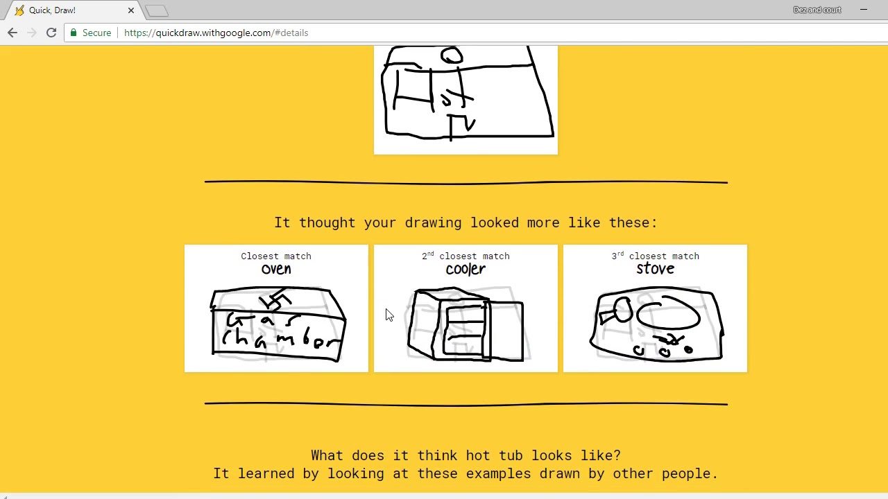 Quick Draw Awesome Google Game