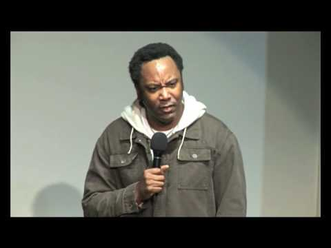 Reginald D Hunter's disbelief at how soft racist name calling is in the UK.