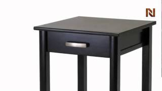 Winsome Liso End Table / Printer Table With Drawer And Shelf 92719