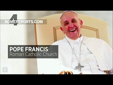 Đức Giáo Hoàng Phanxico xếp thứ tư trong những người quyền lực nhất thế giới