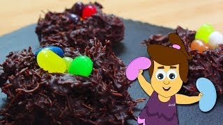 How To Make Easter Chocolate Jelly Beans Nests