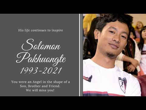 Condolence Programme Of Tv. Solomon Pakhuongte. 29/8/2021