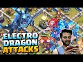 Gambar cover My First Attack With Electro Dragon In COC - Clash Of Clans | Khelte Rahoo