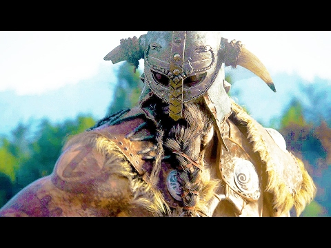FOR HONOR All Cutscenes Movie Vikings/Samurai/Knight