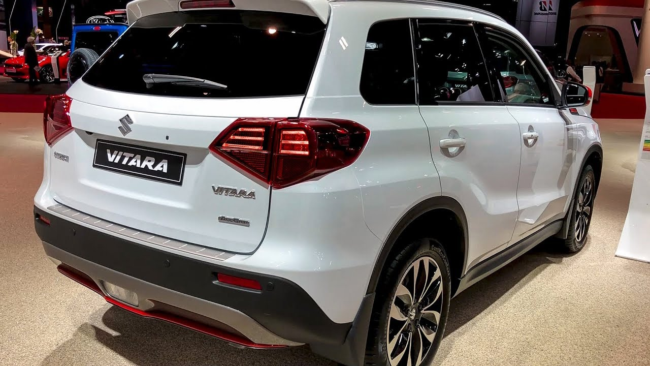 suzuki vitara 2019 interior and exterior walkaround. Black Bedroom Furniture Sets. Home Design Ideas