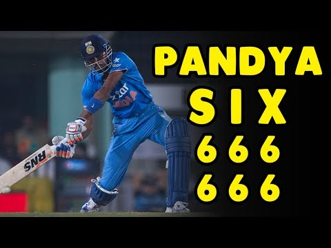 Hardik pandya's 6 sixes Against Pakistan in Final of ICC Champions Trophy 2017