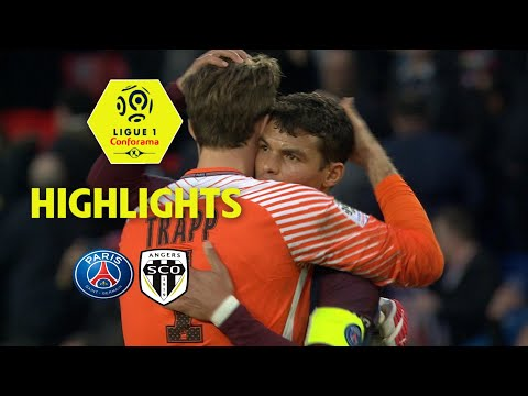 Paris Saint-Germain - Angers SCO ( 2-1 ) - Highlights - (PARIS - SCO) / 2017-18