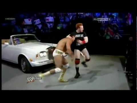 Alberto Del Rio & Sheamus Opening Segment & Brawl - SmackDown 3/7/2012