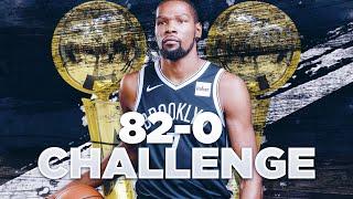 82-0 CHALLENGE W/ THE OKC THUNDER!