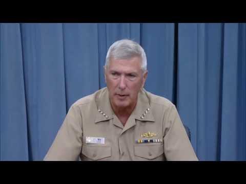 ADM Sam Locklear Pentagon Briefing
