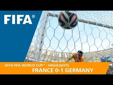 FRANCE v GERMANY (0:1) - 2014 FIFA World Cup™
