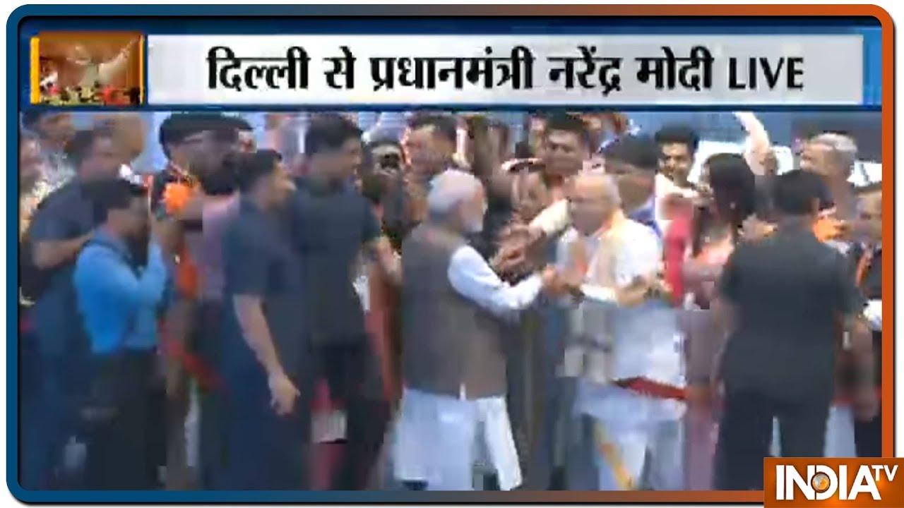 PM Modi Addresses 'Main Bhi Chowkidar' Event At Talkatora Stadium   Full Video