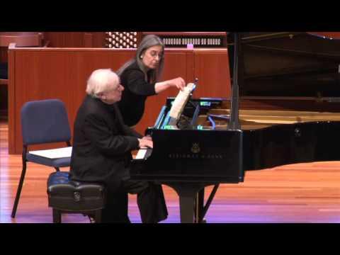 Richard Goode, pianist - Beethoven Sonata No. 31 in A-flat, Op 110, Mvt. 1