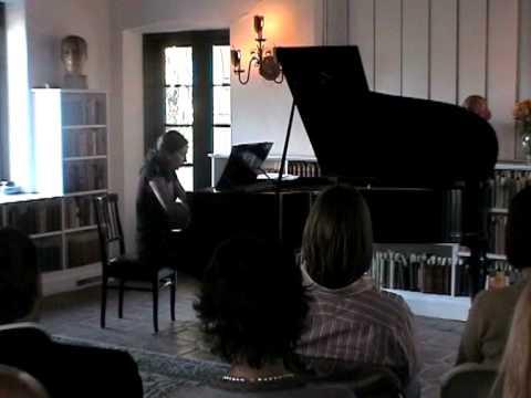 Susanne Kessel, Klavierstück op. 11 Nr. 1 - Arnold Schoenberg