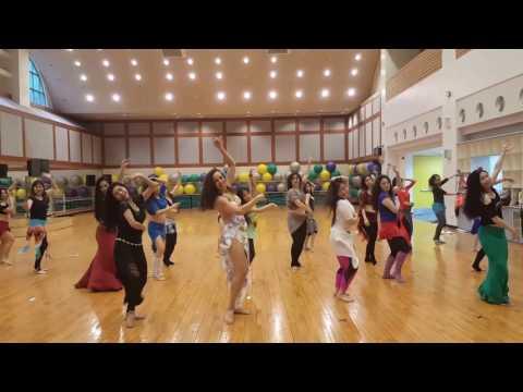Orit class in Taiwan 2017 - music by Sayed Balaha