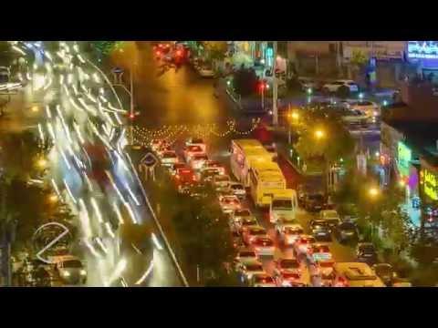 Iran Tehran time lapse