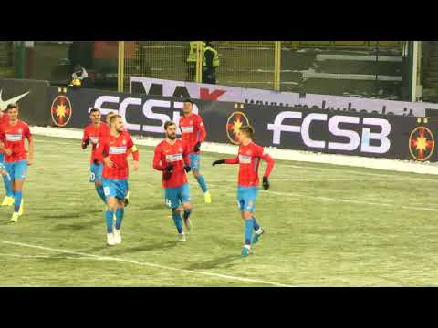Gol Florin Tănase, în FCSB - Gaz Metan Mediaș 2-1