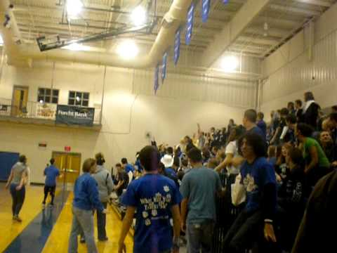 Barbourville High School Doing The Wave