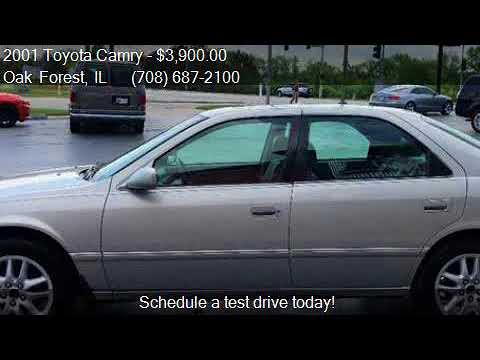 2001 Toyota Camry XLE V6 4dr Sedan for sale in Oak Forest, I
