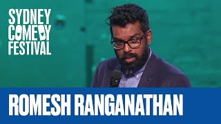 Let Your Kids Swear To Protect Themselves | Romesh Ranganathan | Sydney Comedy Festival
