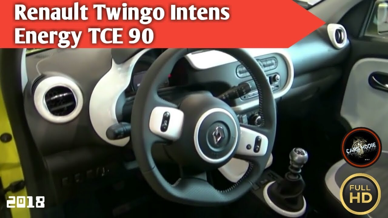 2018 renault twingo intens energy tce 90 exterior and interior youtube. Black Bedroom Furniture Sets. Home Design Ideas