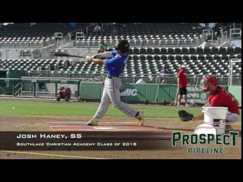 Josh Haney, SS, Southlake Christian Academy, Swing Mechanics at 200 FPS