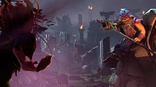 Два новых героя в Dota 2! Презентация обновления The Dueling Fatest