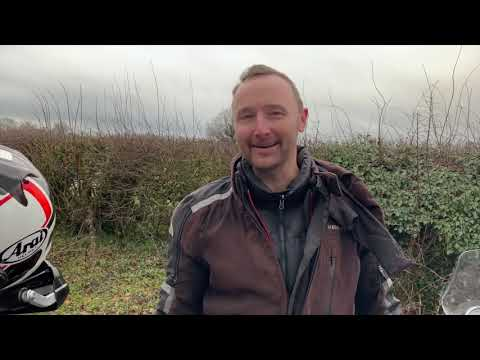 Dave's BMW R1200GS Adventure vs my Royal Enfield Himalayan
