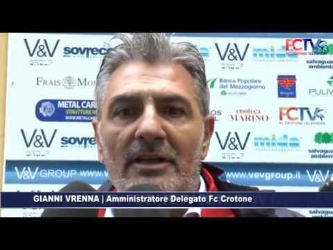 Memorial Parrilla: Crotone-Potenza 3-0