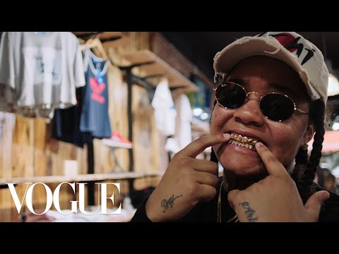How Rapper Young M.A. Keeps It Real When...