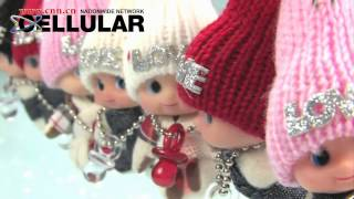 Cute Baby Doll Charms With Touque Accessories For All Models Of Phones, Bags