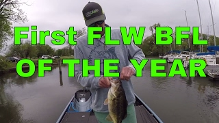 First FLW BFL Bass Fishing Tournament of the year on the Potomac River