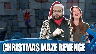 Christmas Maze Revenge!