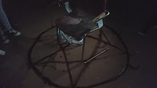 quick updates! FOUND SATANIC RITUAL IN ABANDON BUILDING