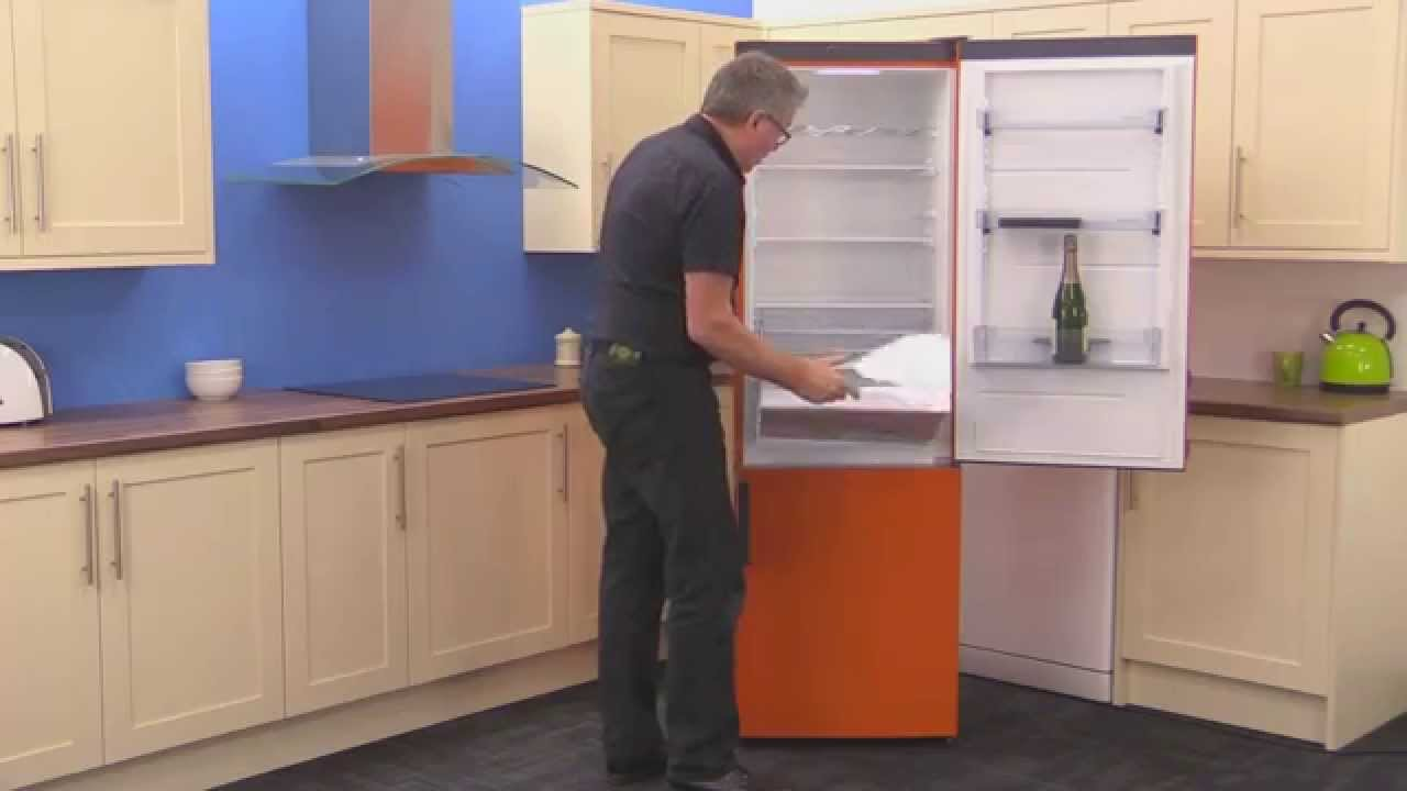 Gorenje Retro Kühlschrank Orange : Gorenje rk eo fridge freezer youtube