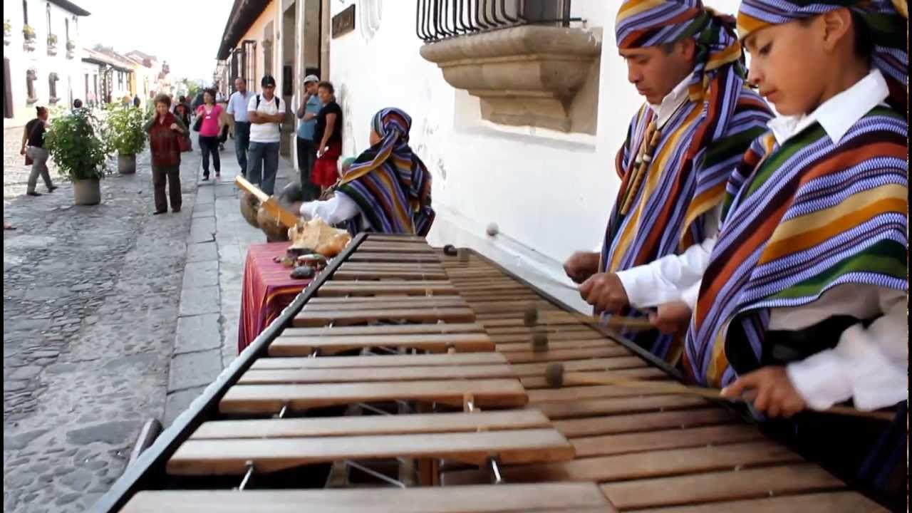 Mayan Marimba Music Antigua Guatemala Youtube