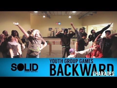 Youth Group Games Backward Charades Youtube
