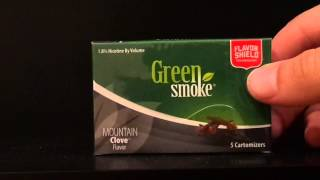Green Smoke Mountain Clove Cartridge Review | Clove E-Cigarettes