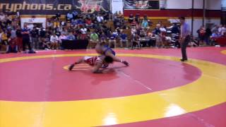 2014 Canada Cup: 61 kg Marc Magano (CAN) vs. Joseph Dashou (CAN)