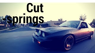 Cutting 240sx springs